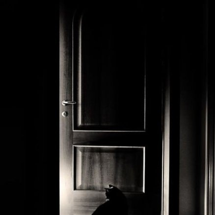 O ușă întredeschisă