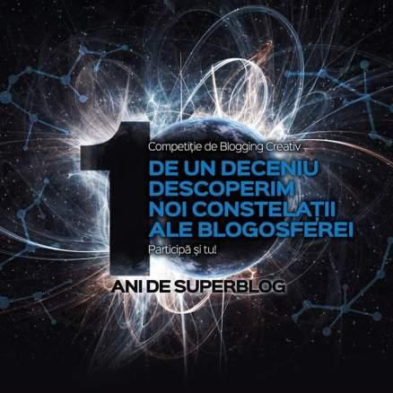 Prima toamnă cu SuperBlog