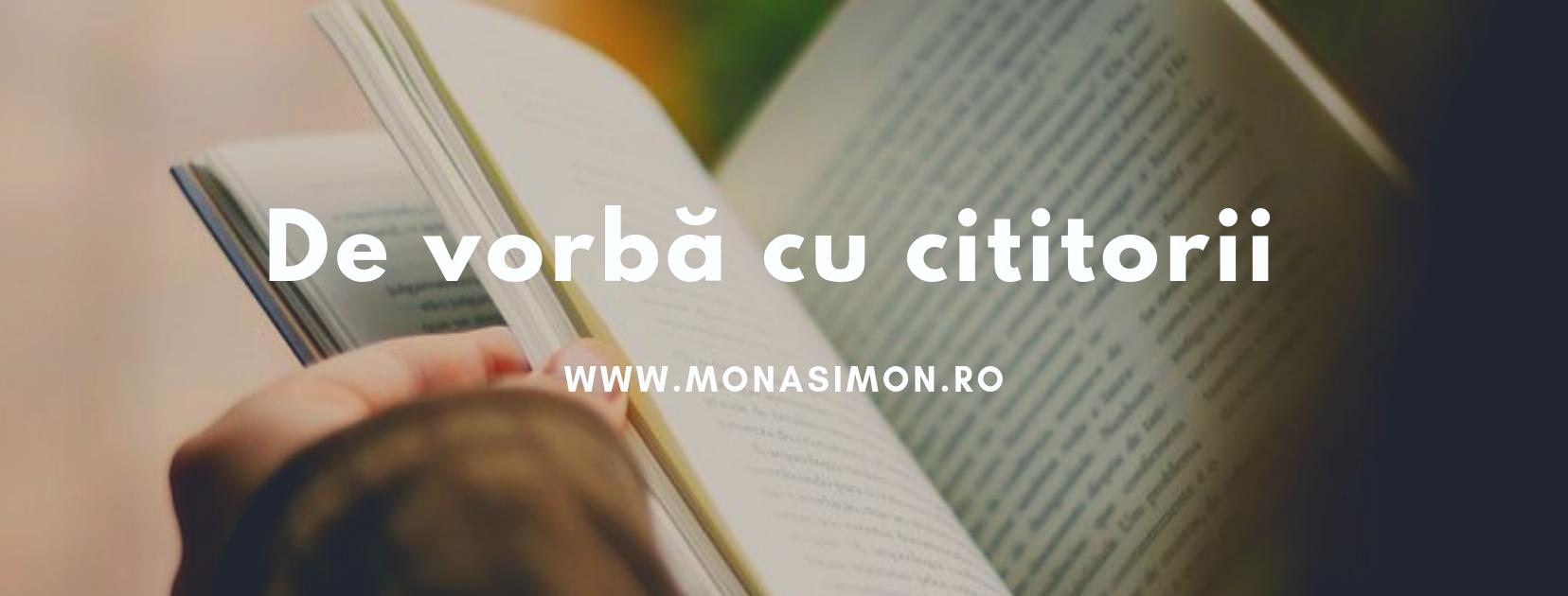 De vorbă cu cititorii: Cornelia Tudusciuc