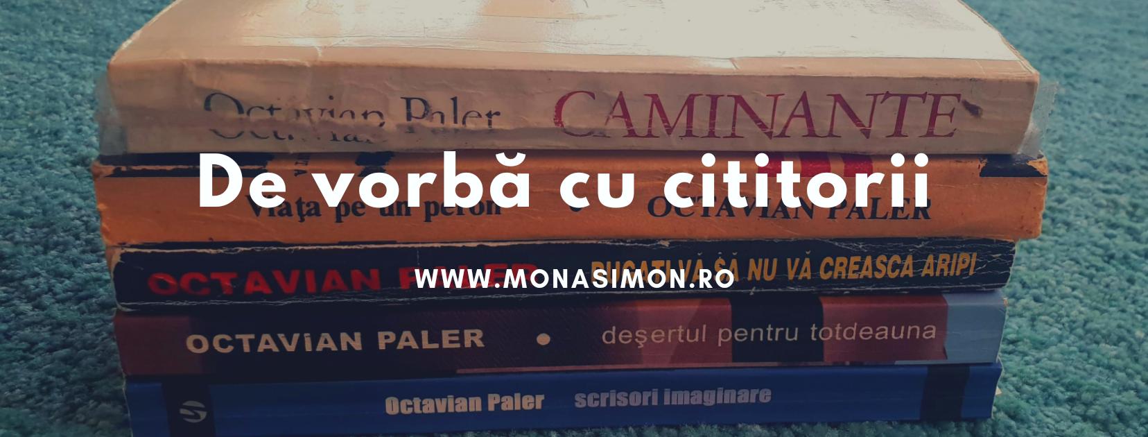 De vorbă cu cititorii: Dana Codori