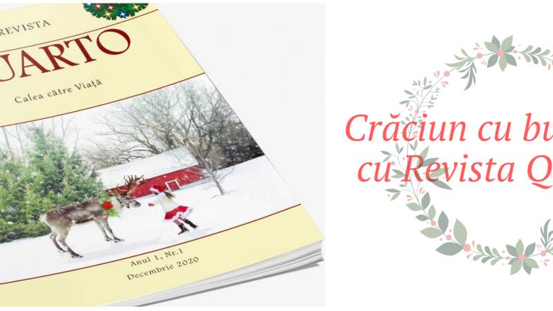 Crăciun cu bucurie și cu Revista QUARTO